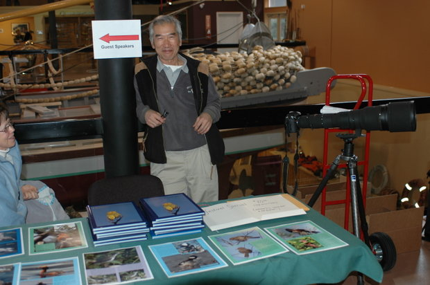 Mike Yip from Nanoose, bird book publisher & photographer