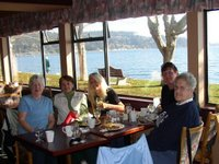 October 13, 2007:  The lunch bunch